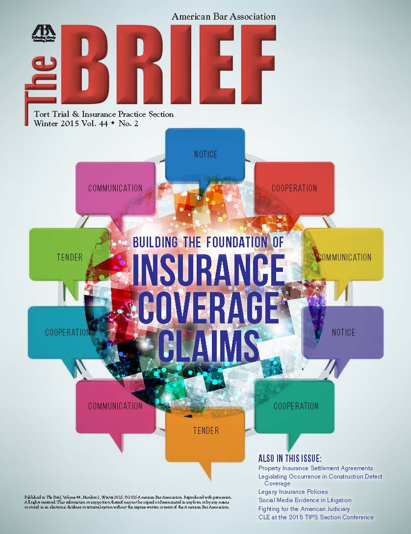 The Brief Cover Winter 2015